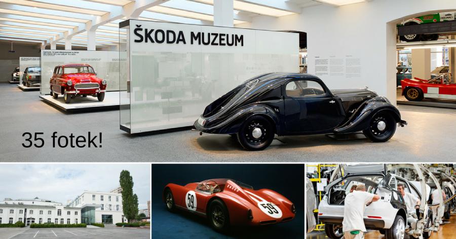 Muzeum Škoda - nejkrásnější česká auta na jednom místě