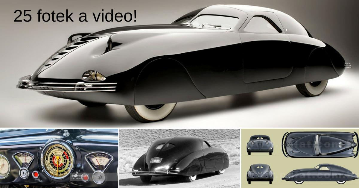 Phantom Corsair - příliš moderní auto na svou dobu