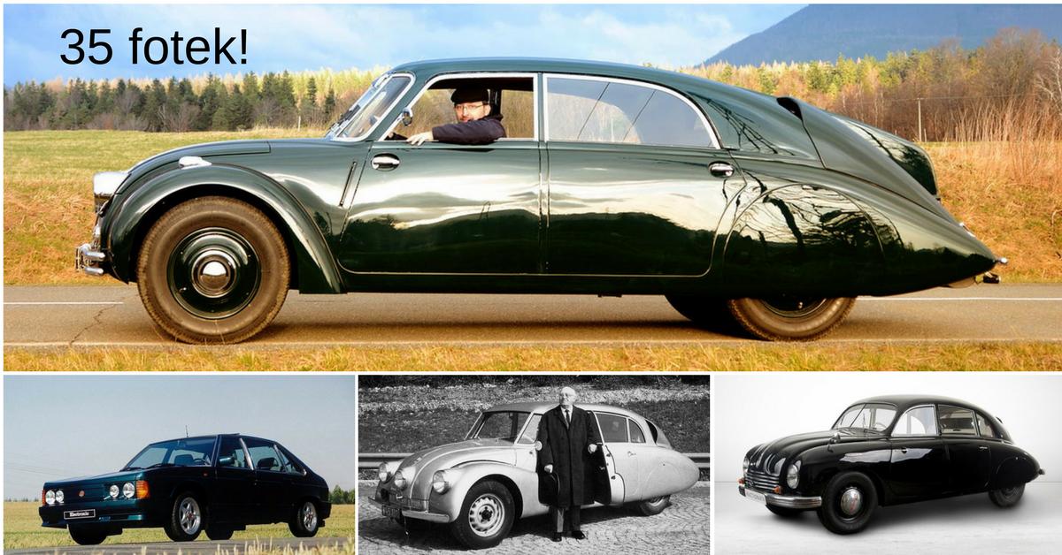 Tatra a její nejslavnější auta - bude vyrábět jejich repliky?