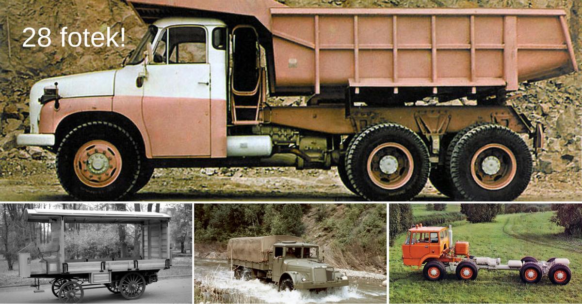 Česká Tatra - od prvního náklaďáku až po Drtikolku