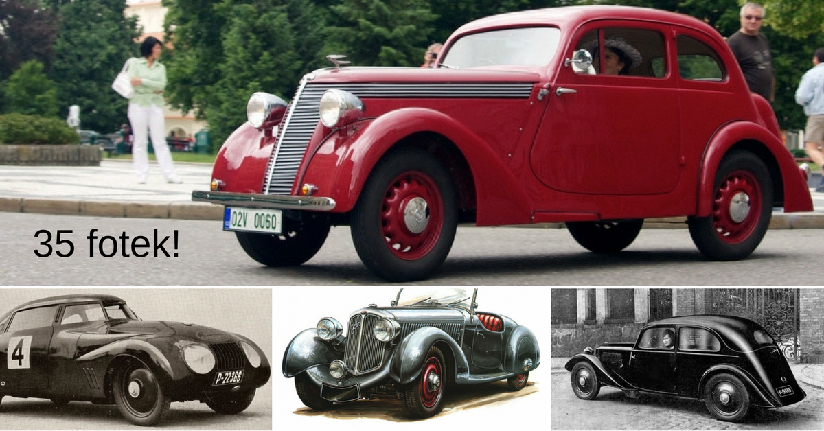 Jawa - slavný výrobce motorek, který vyráběl i auta