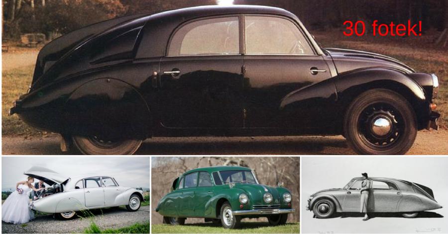 Tatra 77, 87 a 97 - nejúžasnější česká proudnicová auta