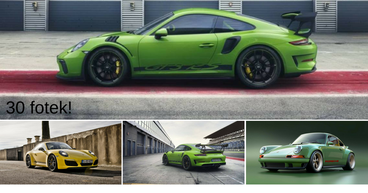 Na ženevském autosalónu se představí nové Porsche 911 GT3 RS
