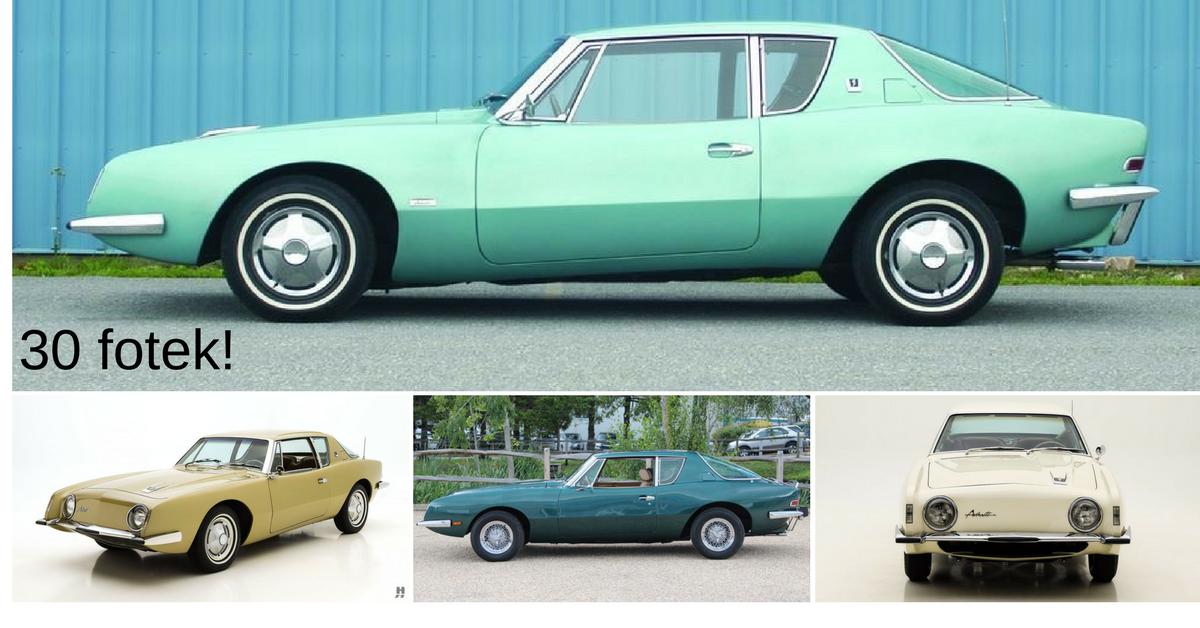 Studebaker Avanti - dokonalý propadák ze 60. let