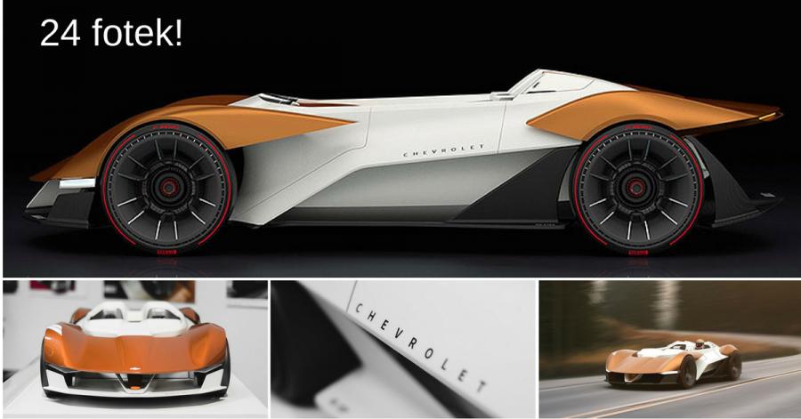 Chevrolet Monza SS: Mladý designér oživil slavné jméno