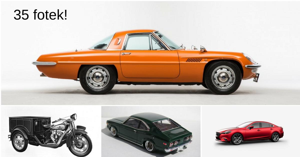 Mazda a jejích 5 aut, na která nelze zapomenout