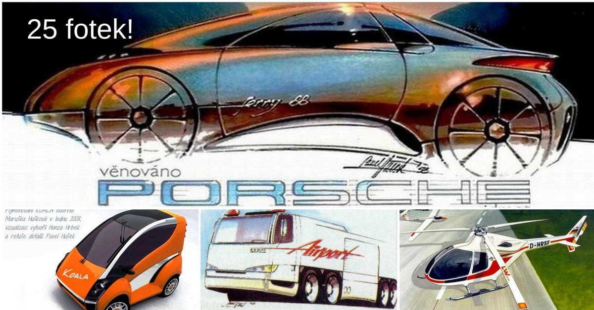 Designér Pavel Hušek - po jeho návrzích toužily nejlepší světové automobilky