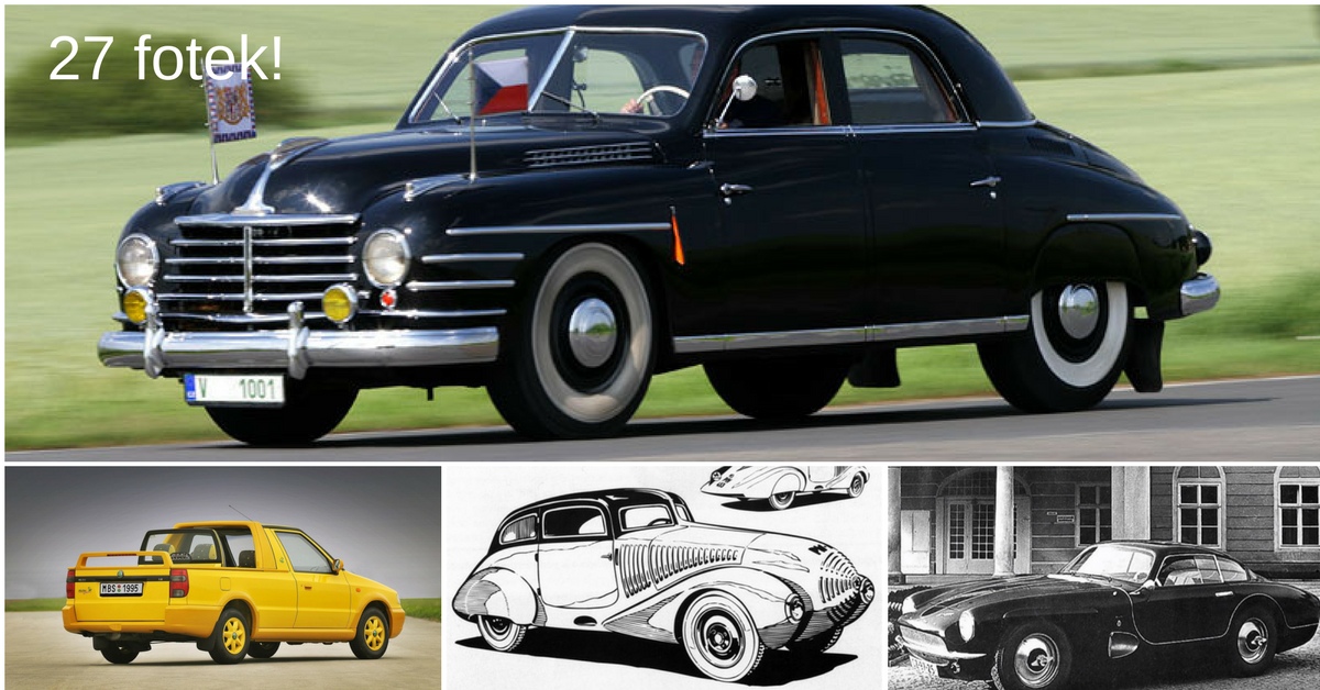 5 zapomenutých českých aut, která stojí za připomenutí