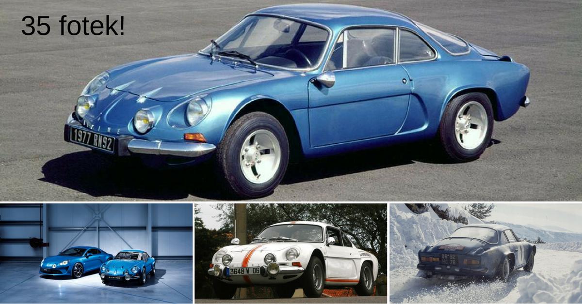 Alpine A110 - perla francouzského automobilového průmyslu