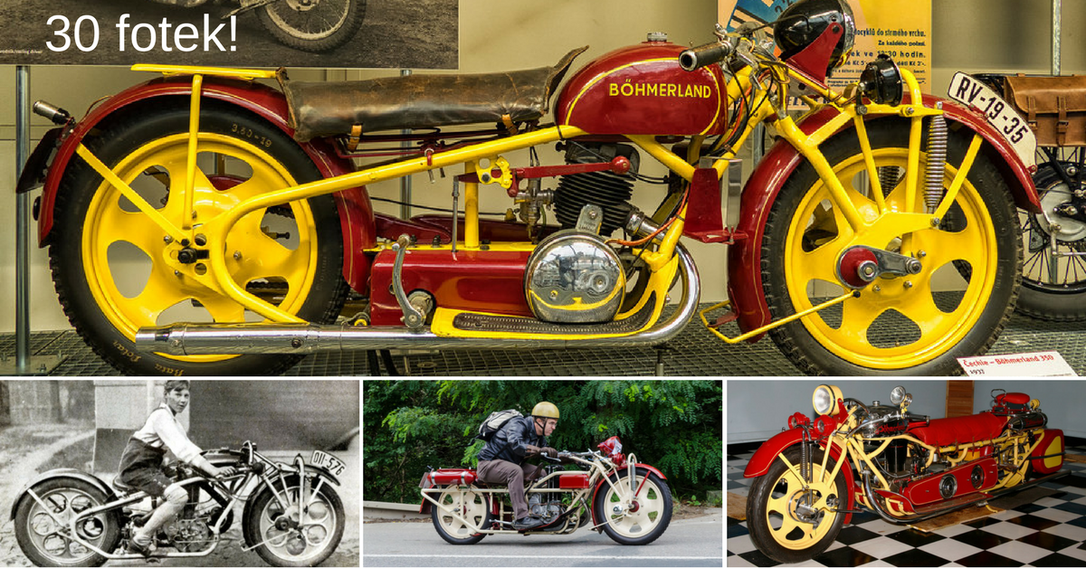 Čechie-Böhmerland - nejdelší motorky světa pocházely z Česka