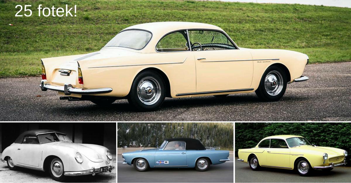 Beutler Porsche - první čtyřmístné porsche pro čtyři