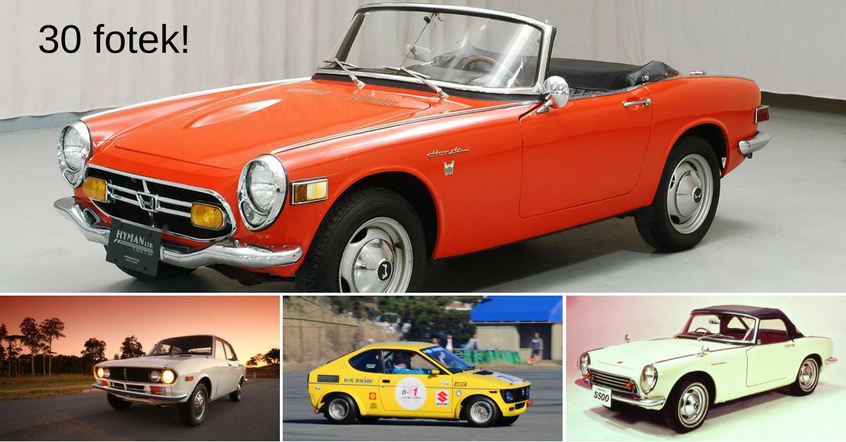 Trojka japonských aut, na která svět (bohužel) zapomněl