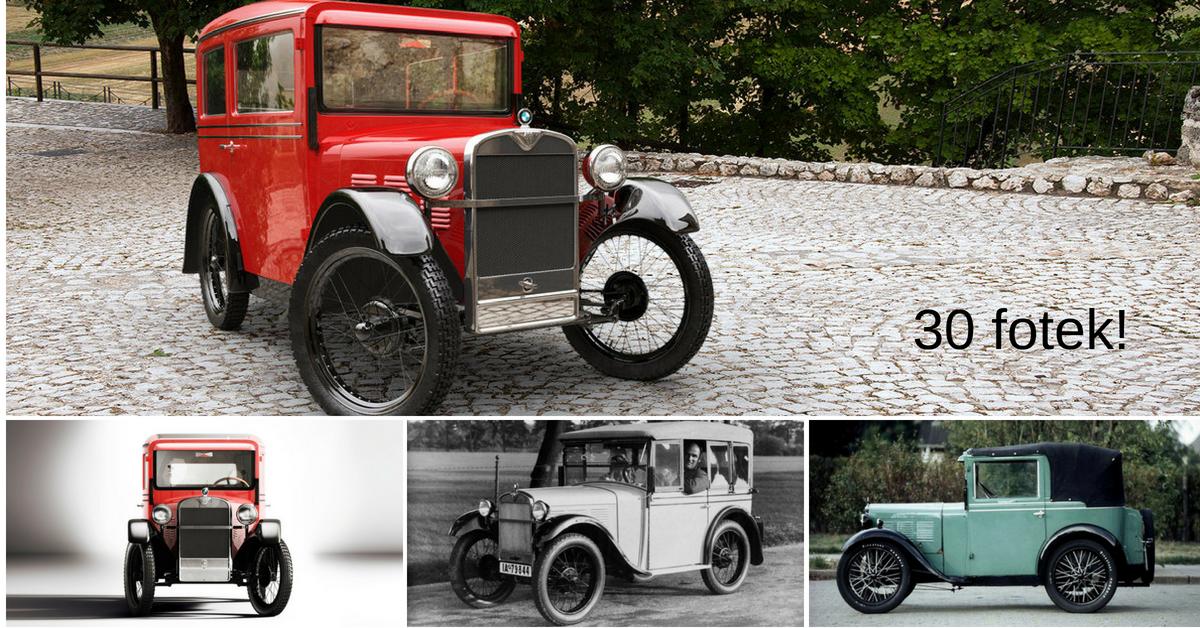 Dixi - první BMW vyjelo na silnice v roce 1928