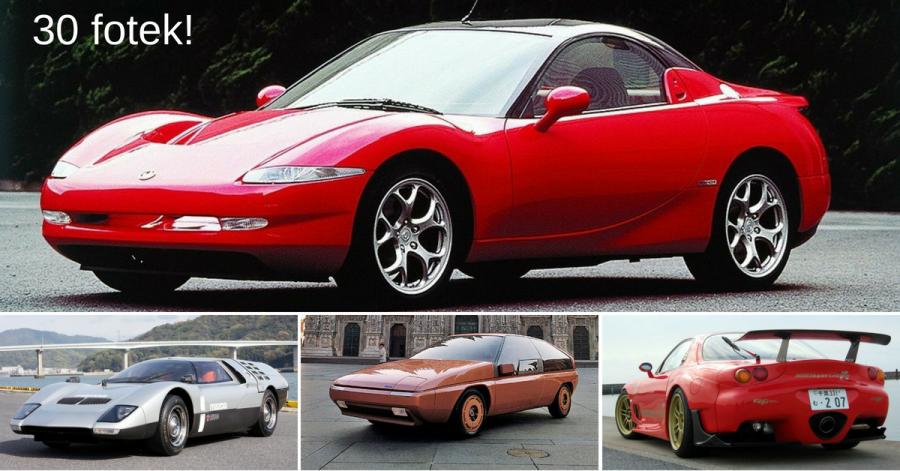3 úžasné koncepty od Mazdy, které se nikdy nedostaly do výroby