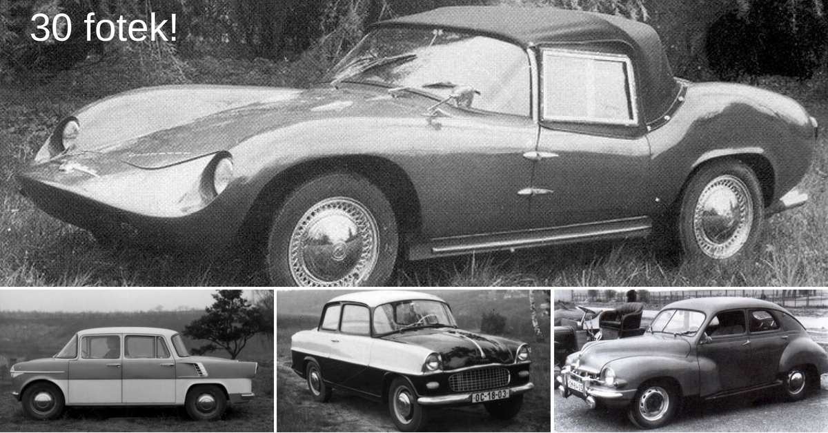 Za socialismu Škoda vyvinula 15 zajímavých prototypů. Znáte je? - 1. část
