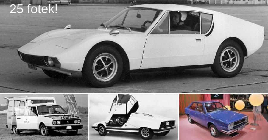 Za socialismu Škoda vyvinula 15 zajímavých prototypů. Znáte je? - 2. část