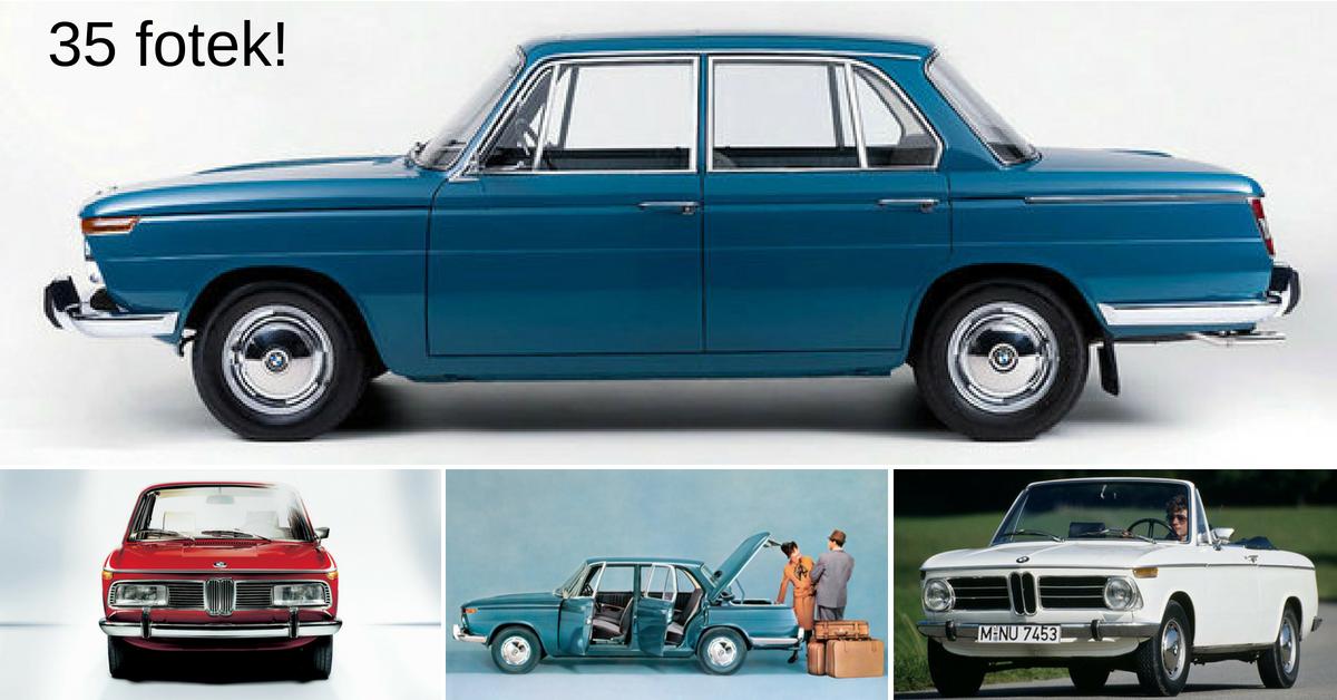 """Kritická 60. léta: Před krachem BMW zachránila až """"Nová řada"""""""