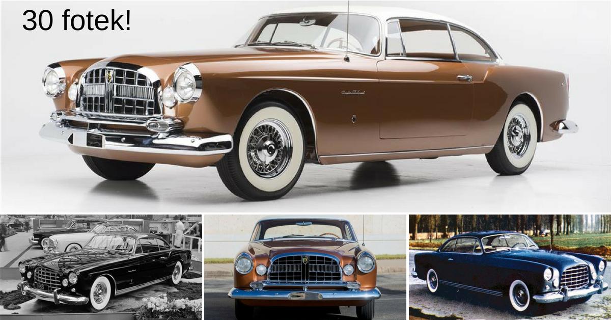 Chrysler ST Special: Unikátní luxusní vůz z 50. let