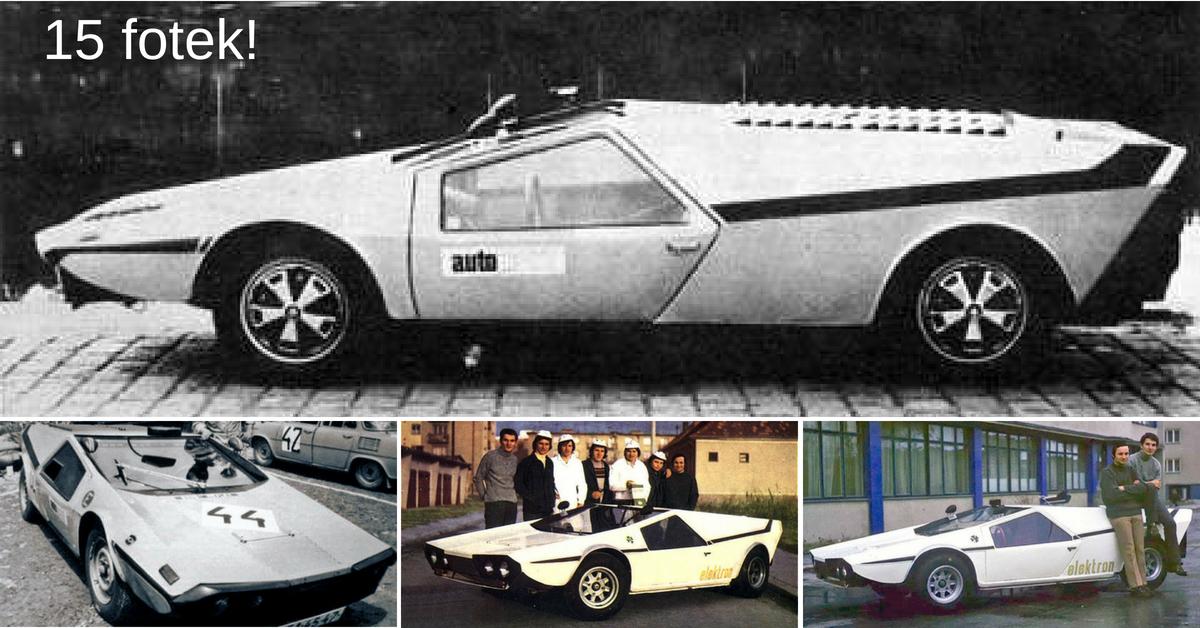 GIOM 1 - druhé nejnižší auto světa vzniklo na Slovensku
