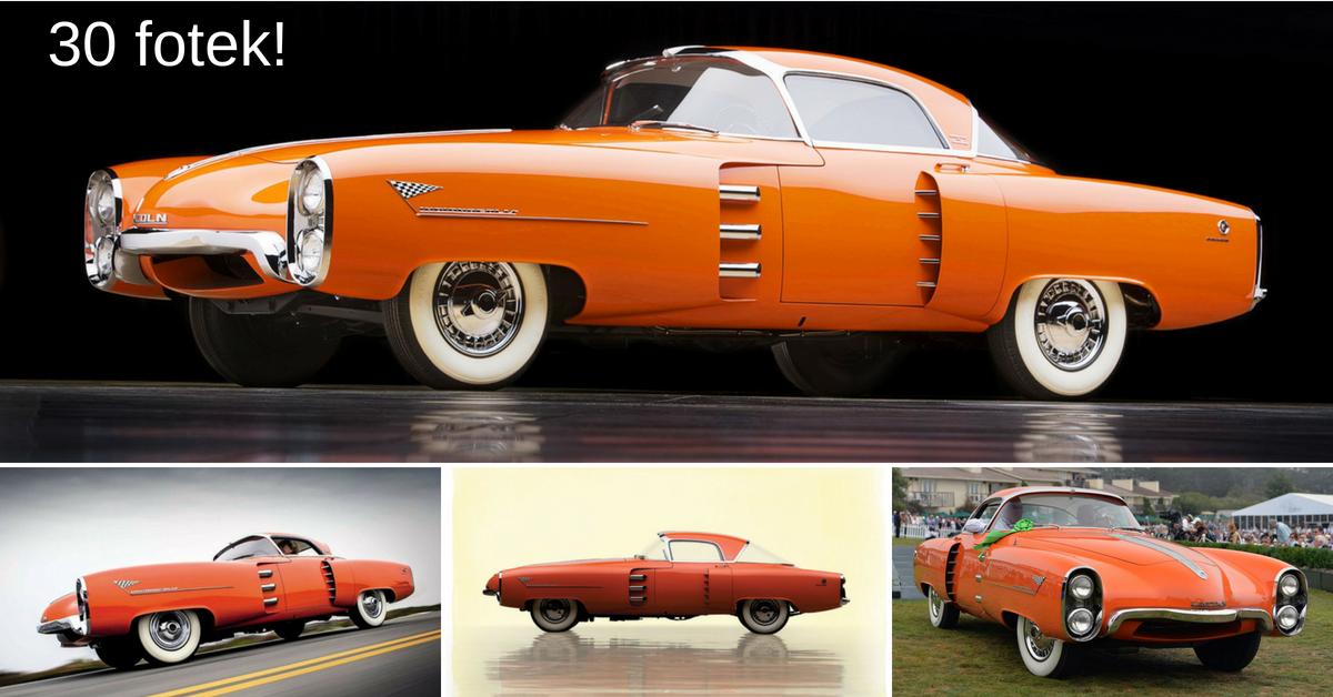 Lincoln Indianapolis - futuristický sportovní vůz