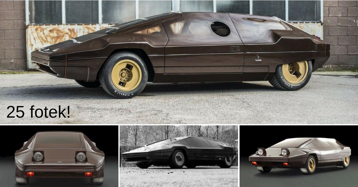 Lancia Stratos Sibilo - futuristický koncept závodní legendy