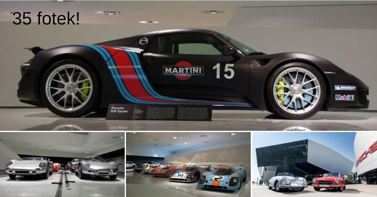 Máte rádi Porsche? Jeďte se pokochat do muzea ve Stuttgartu