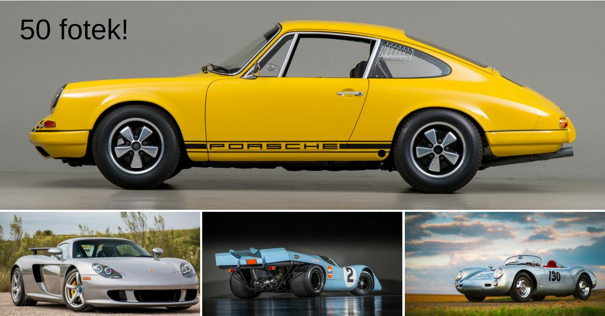 Které Porsche je nejkrásnější? Máme pro vás 5 tipů na vítěze