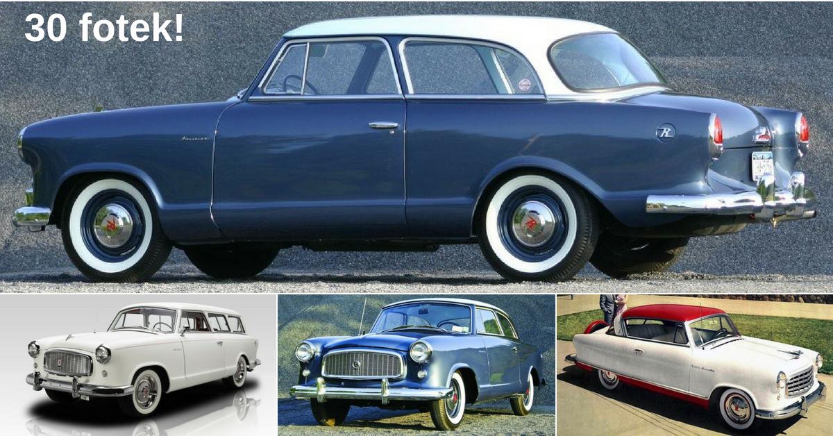 Rambler American - Cadillac z Kenoshe
