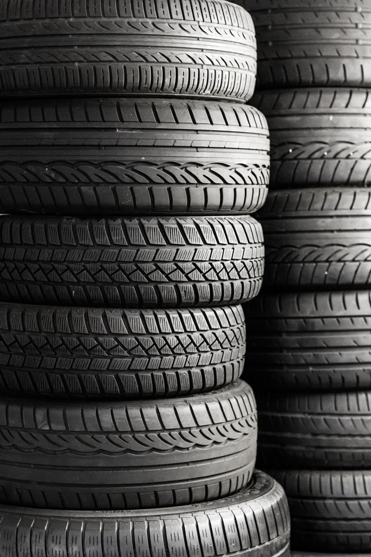 5 tipů jak na skladování pneumatik