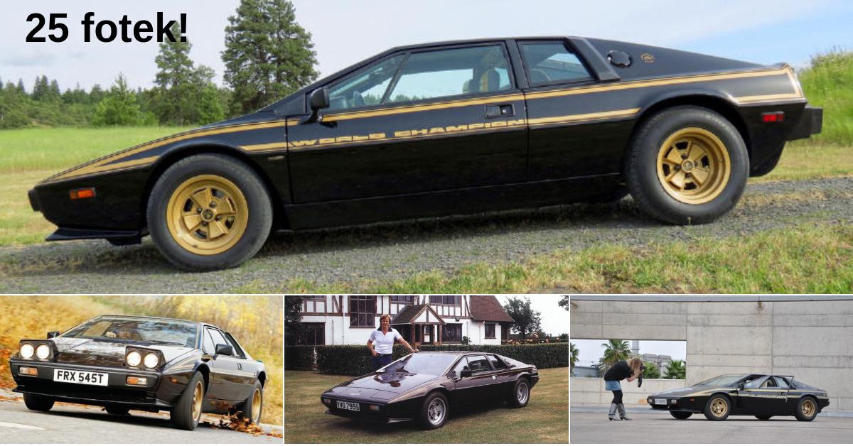 Lotus Esprit - auto zrozené pro Bonda