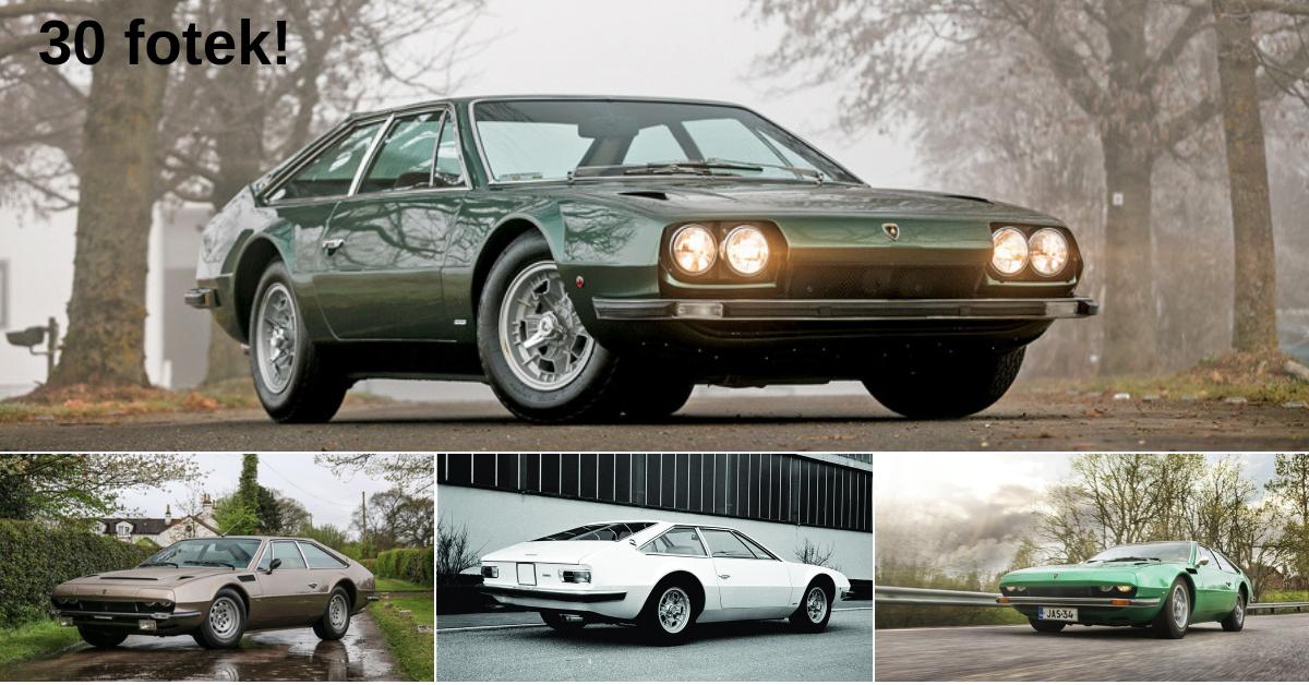 Jarama - skoro zapomenuté Lamborghini