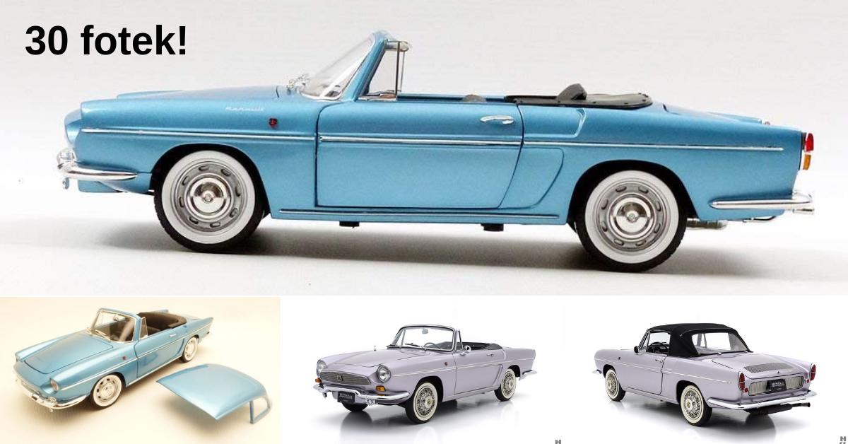Renault Floride a Caravelle - jeden vůz se dvěma názvy
