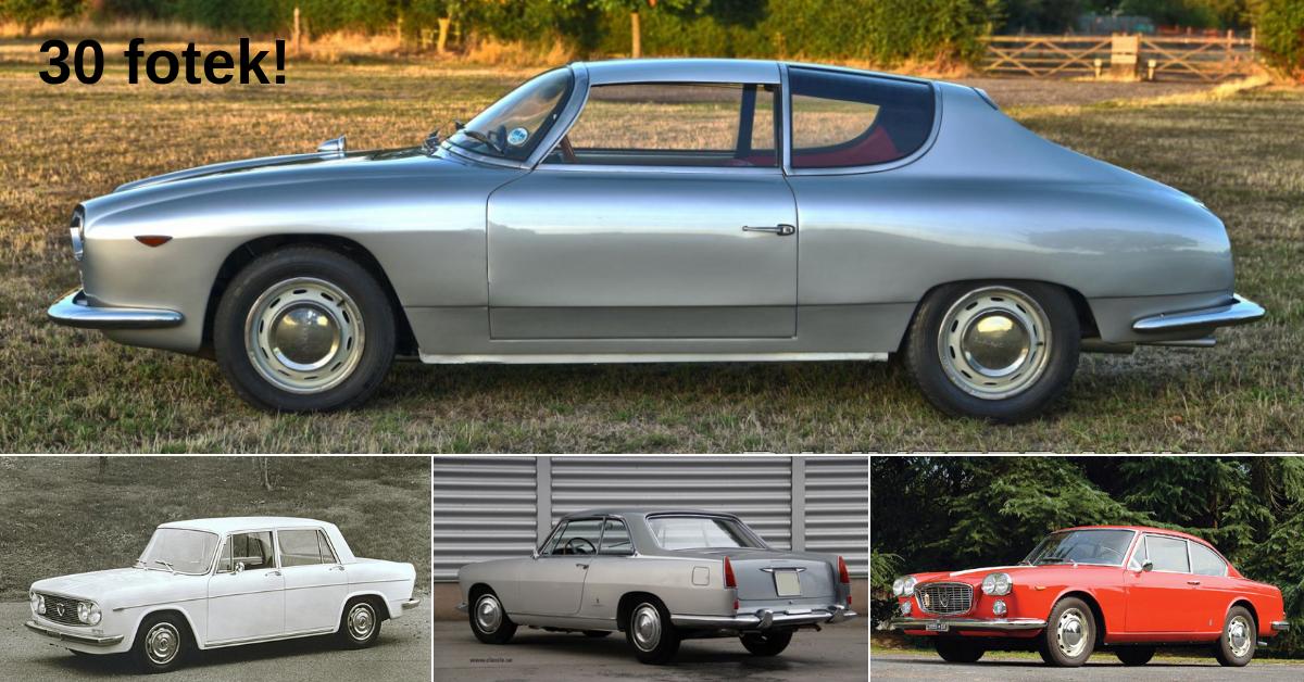 Lancia Flavia - první vůz s předním pohonem