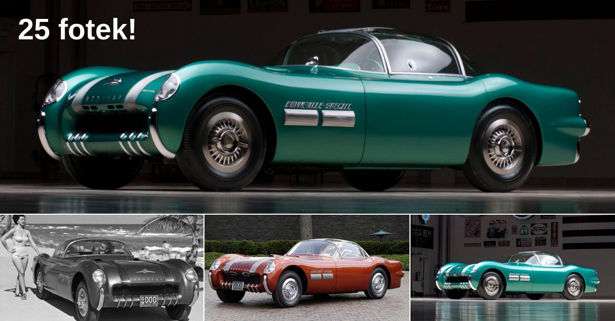 Pontiac Bonneville Special - vůz inspirovaný budoucností