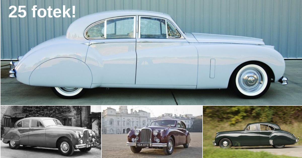 Jaguar Mark VII a VIII - luxus a výkon v jednom