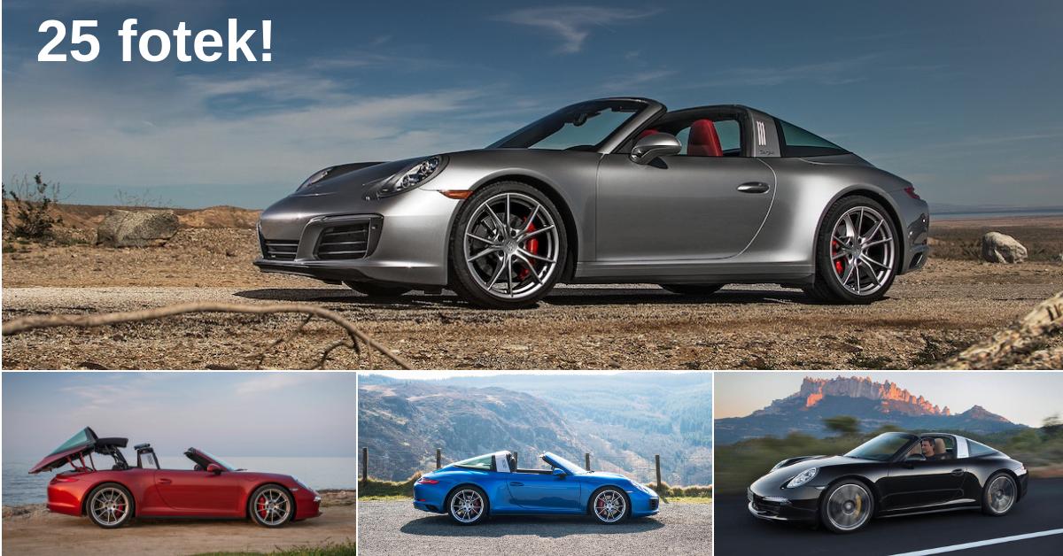 Porsche 911 Targa 4S - Vzpomínka na minulost