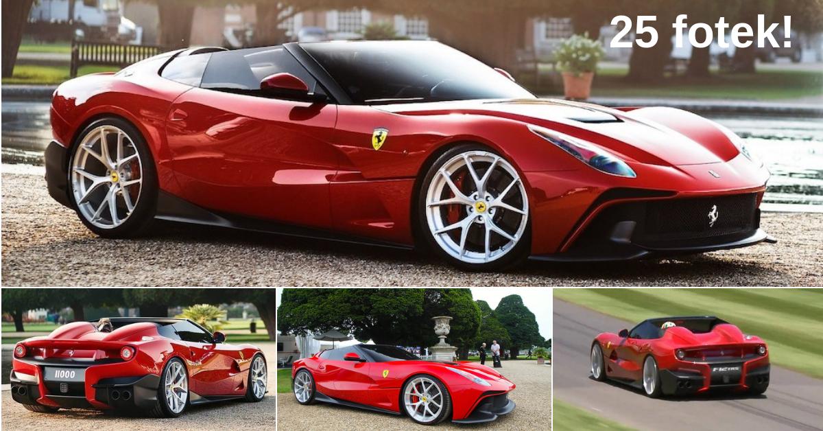 Ferrari F12 TRS - unikátní Ferrari za 85 milionů korun