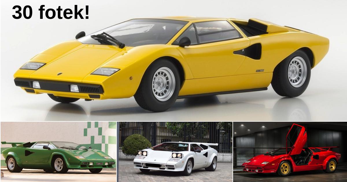Lamborghini Countach - o legendách jenom s úctou