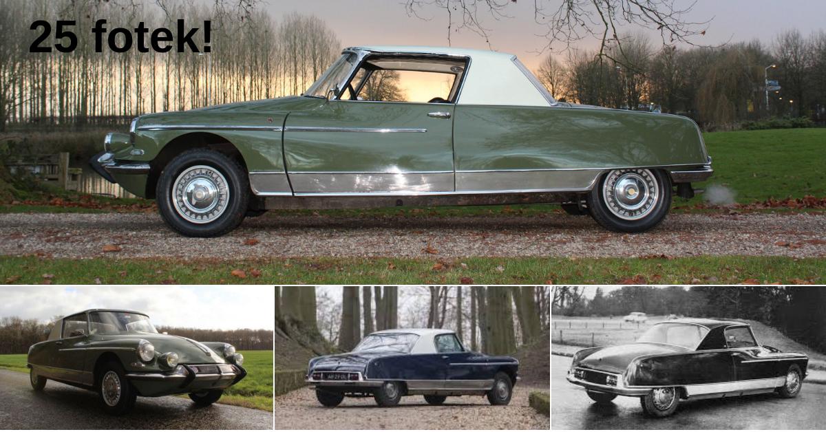 Citroën DS 21 Le Dandy: Vzácné kupé z počátku 60. let