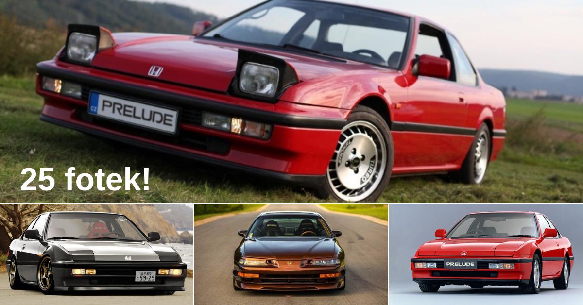 Honda Prelude - legendární japonské sportovní kupé