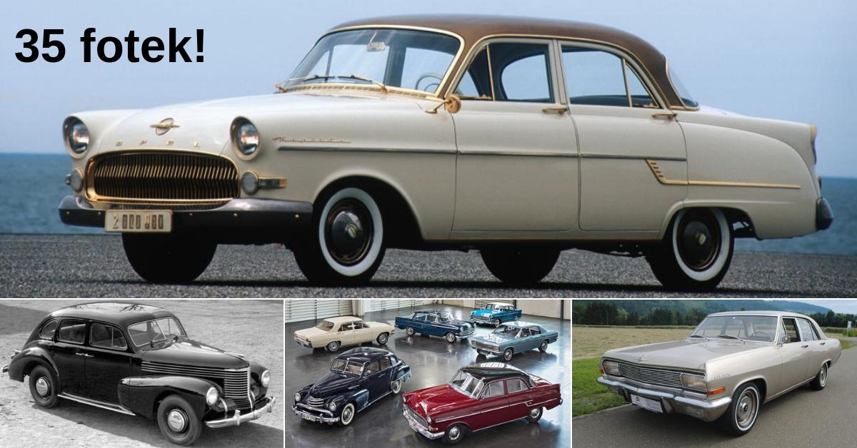 Opel Kapitän - zapomenutý král silnic