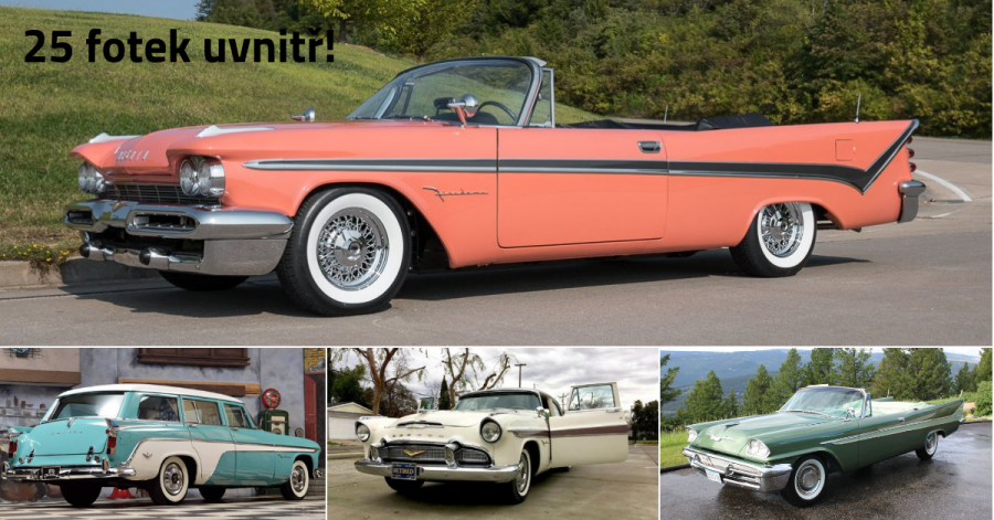 DeSoto Firedome: Od TOP modelu po nejlevnější vůz