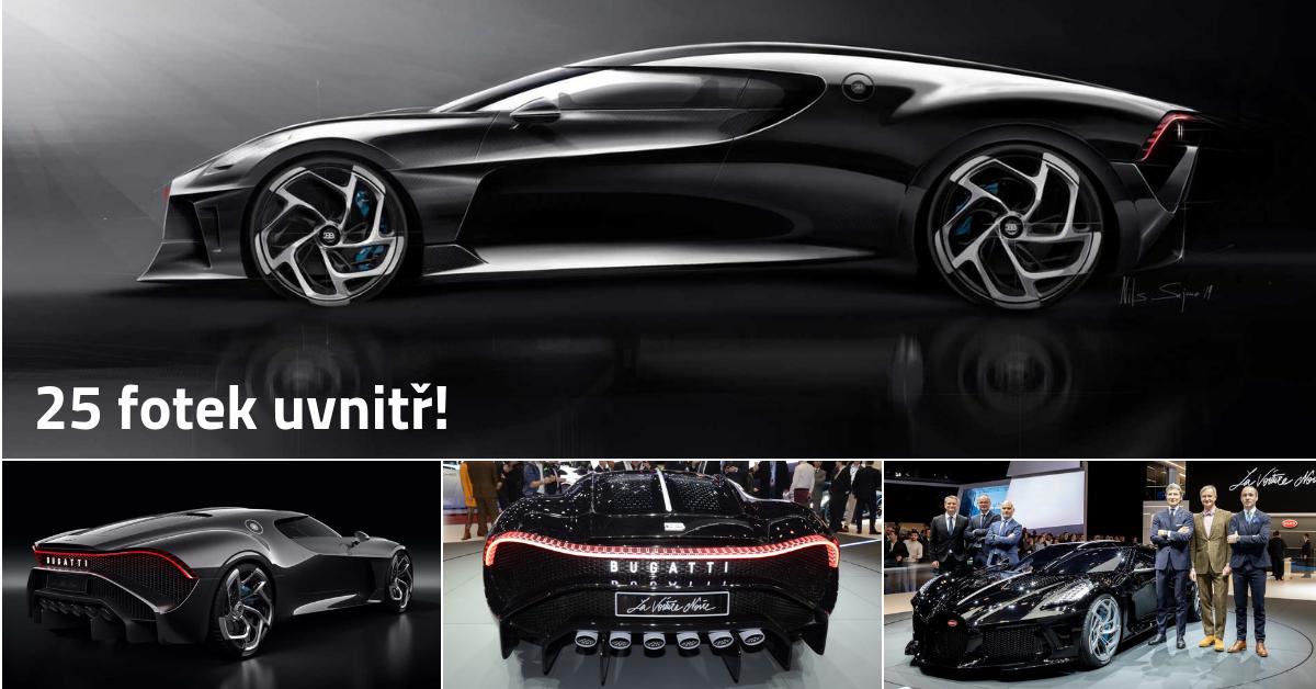 Nejdražší auto světa La Voiture Noire přišlo kupce na 430 milionů