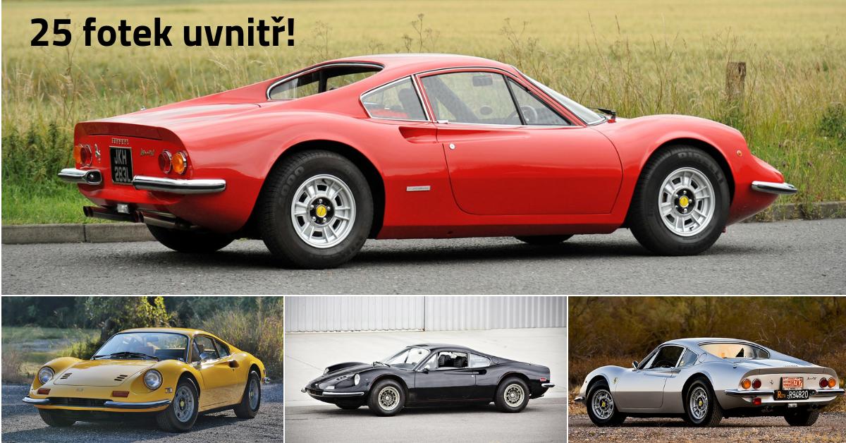 Ferrari Dino 246 GT - ikona na přelomu 60. a 70. let