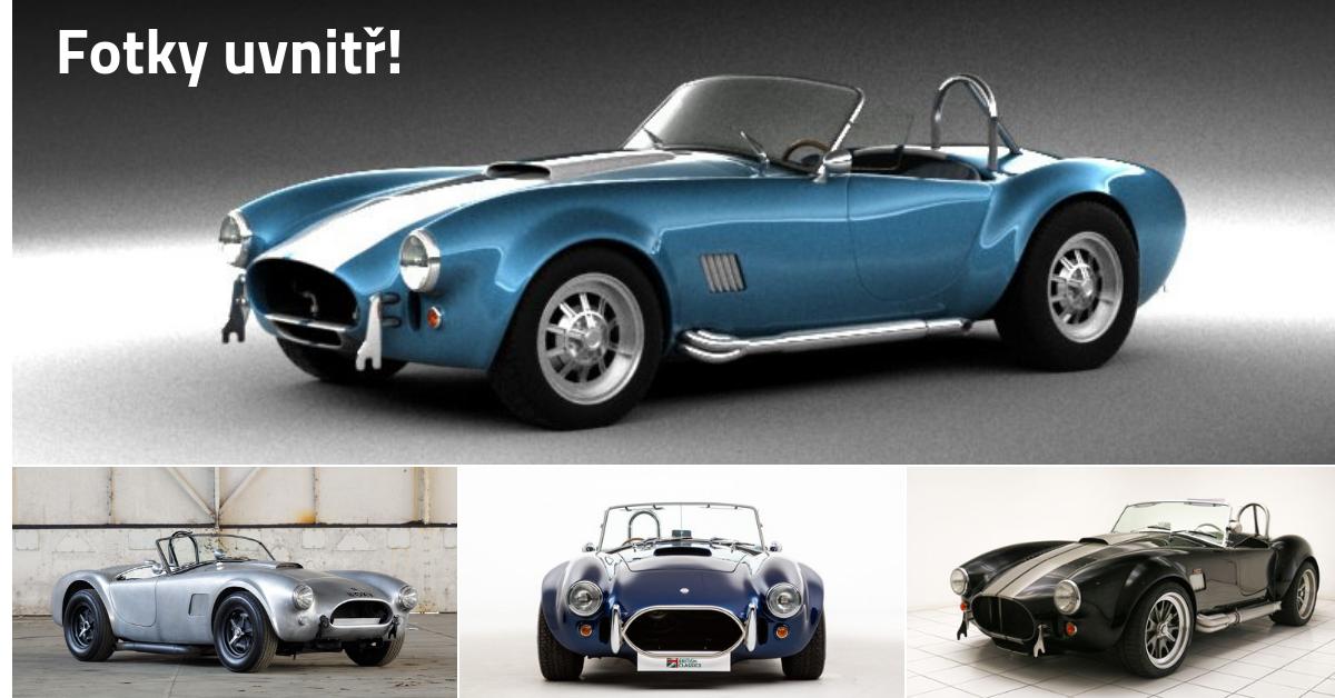Shelby AC Cobra - automobilová legenda od legendárního konstruktéra