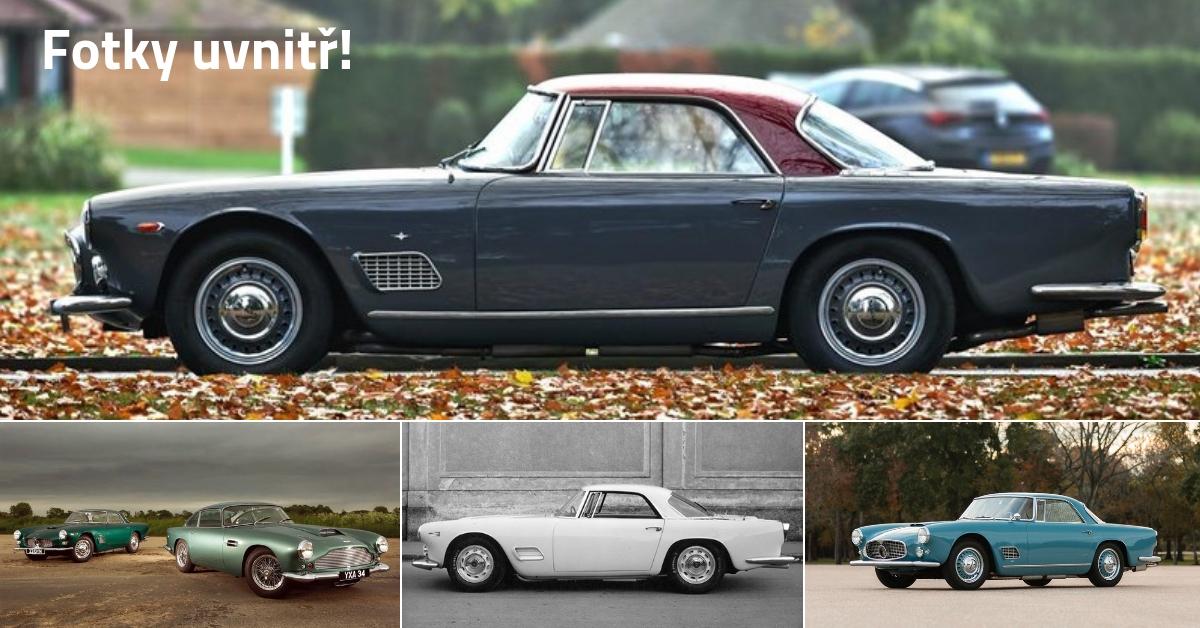 Maserati 3500 - vstupenka mezi top výrobce luxusních vozů