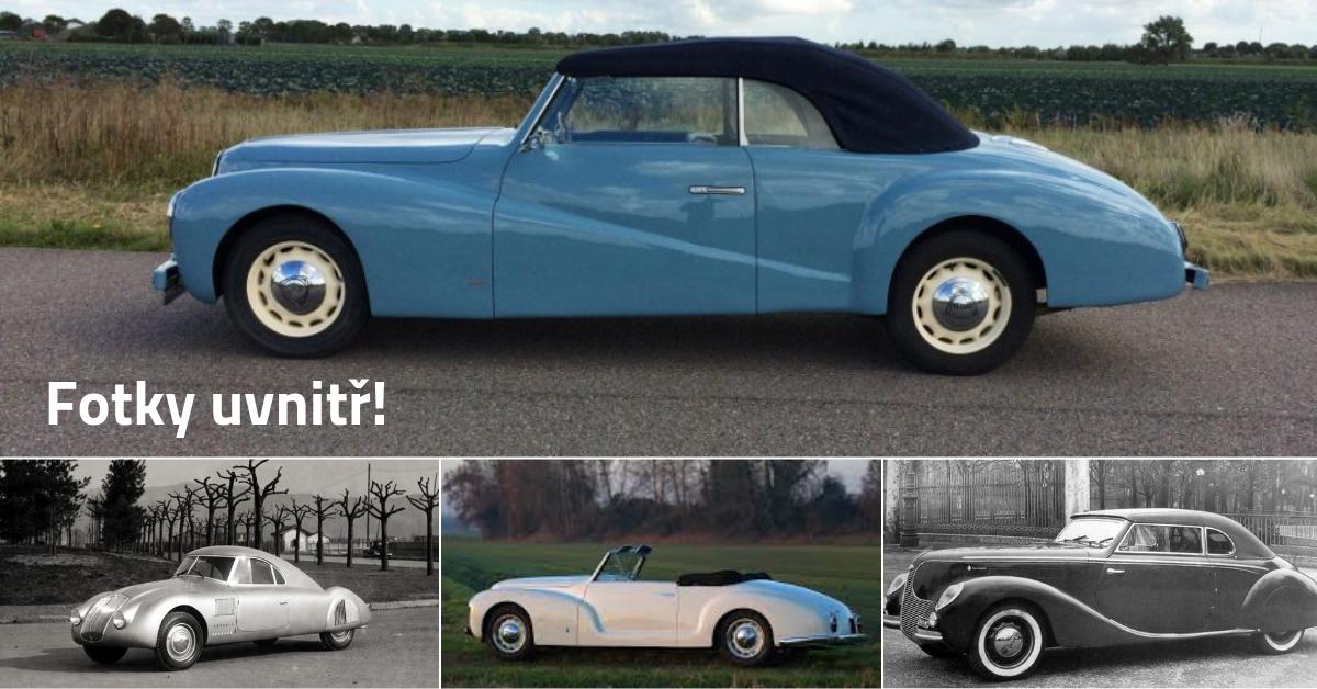 Lancia Aprilia - testováno v aerodynamickém tunelu