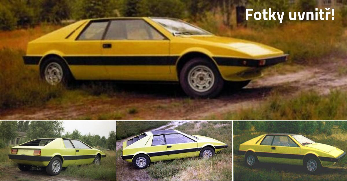 FSO 1100 Coupé - polský Lotus Esprit, který skončil neznámo kde