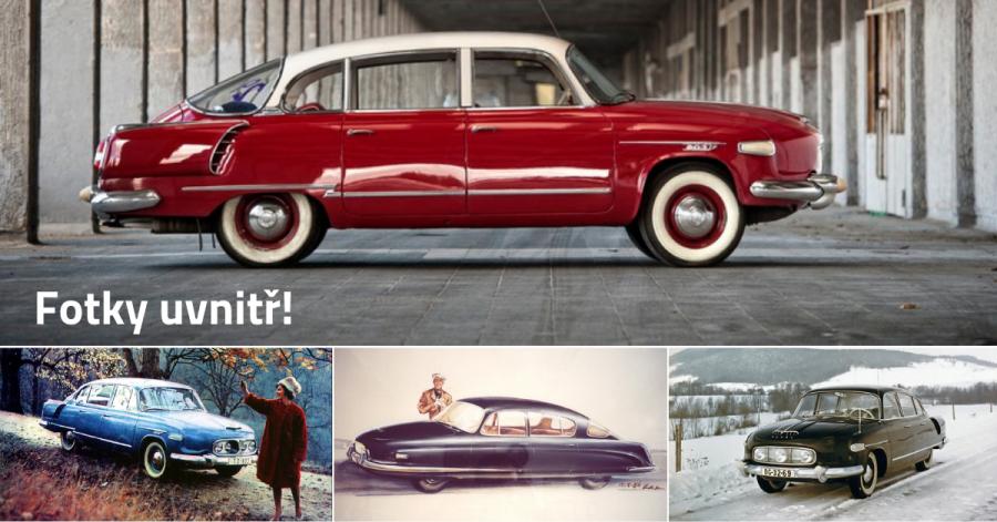 Tatra 603 - senzační limuzína pro papaláše, která vznikla tajně