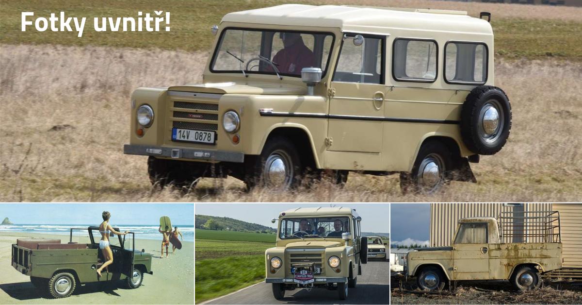 Škoda Trekka: První české SUV z roku 1966